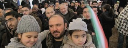 A number of the late Imam Khomeini's lovers gathered in the Neauphle-le-Château