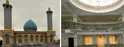 'The Imam Khomeini mosque' in South Turkmenistan