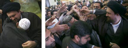 Sayyid Hassan Khomeini received a warm reception from the people of Rafsanjan