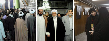 The visits the admirers of the Imam have made in the past week to places related to the Imam