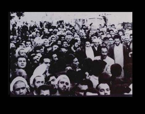Imam Attending Muharram Mourning Ceremonies