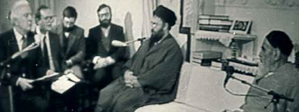 Gorbachev delivered his official response to Imam Khomeini