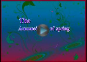 The Annunciation of spring