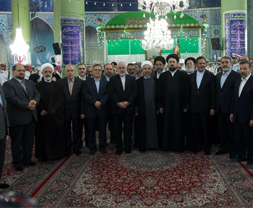 Rouhani's cabinet renews allegiance with Imam Khomeini