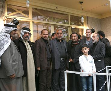 Iraqi Tribe Leaders Visit Imam Khomeini Historic Residence