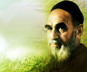 Imam Khomeini Depicted Character of Salvation