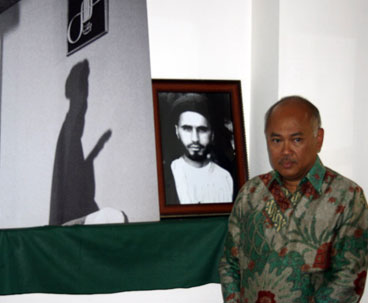 The Ambassador of Indonesia Visit Imam Khomeini's Historic House in Khomein