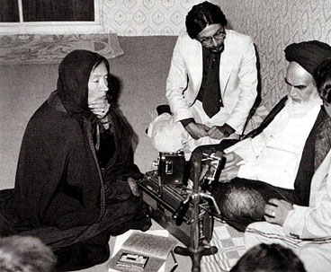Oriana Fallaci was Deeply Impressed by Imam Khomeini