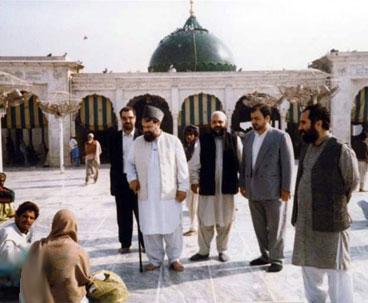 Late Ahmad Khomeini Paid Surprise Visit to Lahore