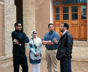 American Tourists Visit Imam Khomeini's Historic House in Khomein