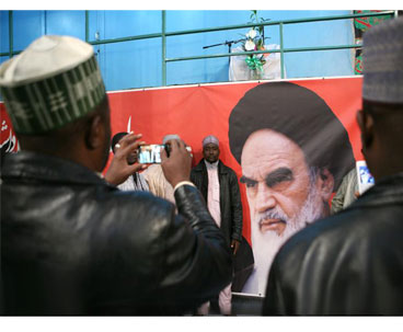 A Group of Nigerian Tourists Visit Imam Khomeini`s House in Jamaran
