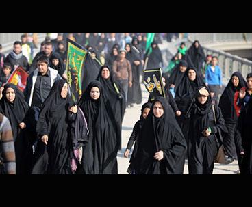 Millions of pilgrims march toward Karbala to mark Arba'een