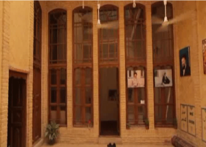 Imam`s reconstructed house in the holy city of Najaf