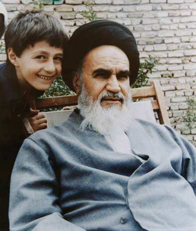 Imam Khomeini with Family Members