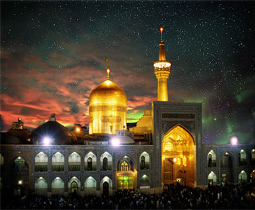Pilgrims gather at Imam Reza's holy shrine