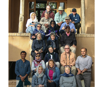 American Tourists Visit Imam Native House in Khomein