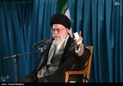 Leader delivering Speeches in 26th commemoration ceremony of Imam Khomeini