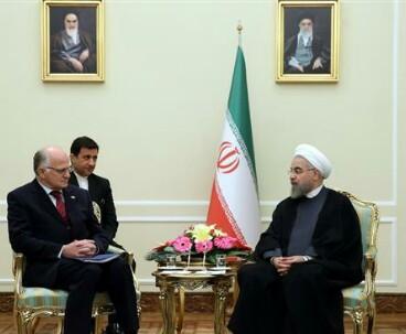 Iranian president warns of spread of terrorism