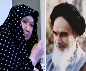Imam Khomeini`s Wife Rendered Sacrifices
