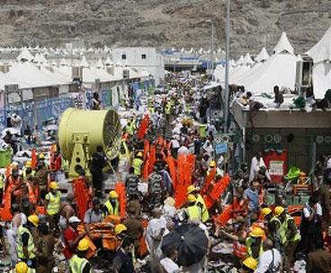 'Iranian death toll from Mina crush at 464'