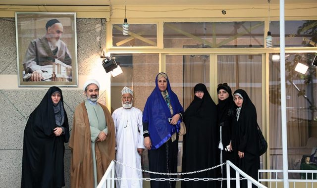 Foreign guests of Imam`s 26th anniversary in Jamaran
