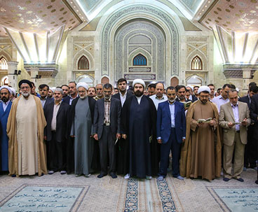 Institute officials pledge allegiance to Imam Khomeini