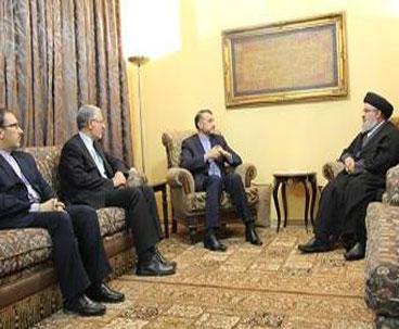 Senior Iranian diplomat meets Nasrallah