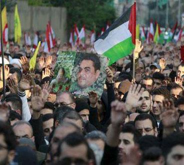 Lebanese mourn Samir Qantar death