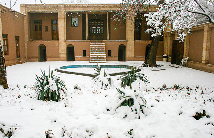 Imam Khomeini`s historical house in Khomein