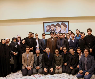 Hassan Khomeini meets assembly of youth