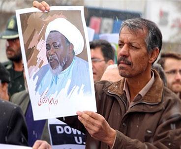 Iranians protest killings in Nigeria