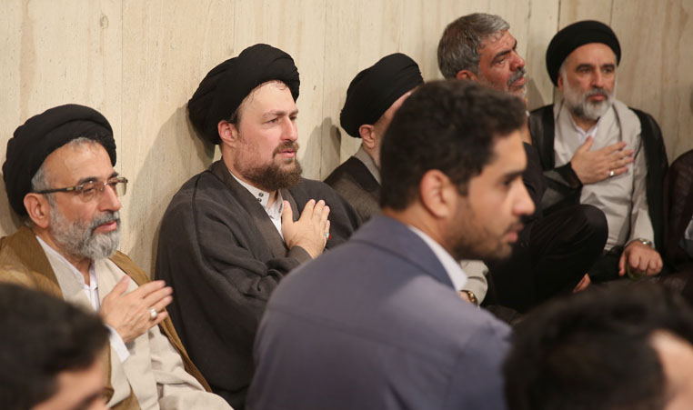 Religious event held at Hosseinieh Jamaran
