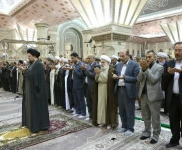 Foreign figures pledge allegiance to Imam Khomeini Ideals