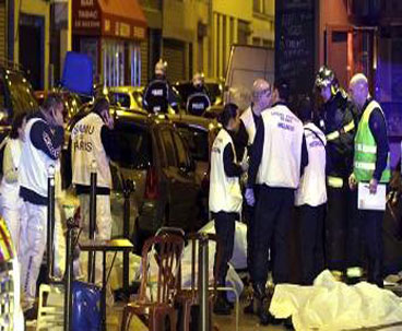 About 130 killed in Paris gunfire, explosions