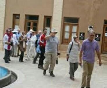 Germans visit Imam Khomeini residence in Khomein