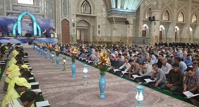 A Quran Recitation Session in the Holy Shrine of Imam Khomeini