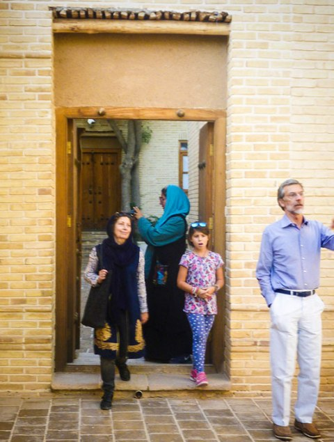 Italian Minster pays a visit to Imam`s house in Khomein