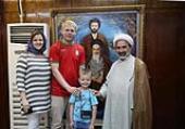 Students visit Imam Khomeini residence, Jamaran art gallery