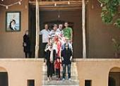Slovakian Tourists pay a visit to Imam Khomeini`s House in Khomein