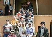 German Tourists pay a visit to Imam`s historic house in Khomein