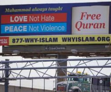 Muslims spread Islam`s peace message