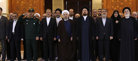Iranian government seeks to follow Imam Khomeini path
