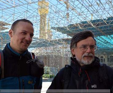 Team of German tourists visit Imam Khomeini mausoleum