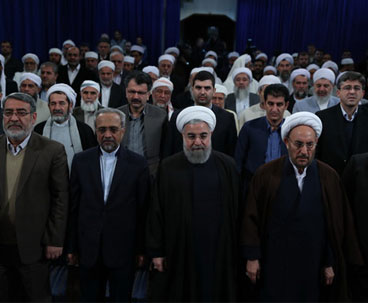 Iran president stresses importance of unity