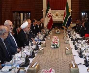 Iran, S Africa discuss regional issues