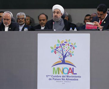 Iran's president highlights NAM's role in resolving crisis
