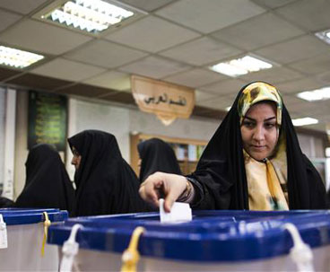 Iran starts counting ballots in runoff vote