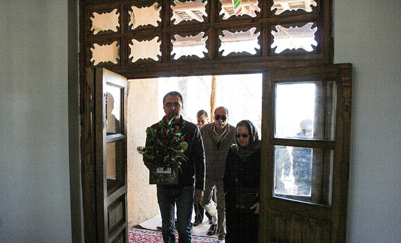 Armanian religious authorities paid a visit to Imam`s historic house in Khomein