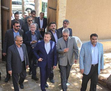 Minister visits Imam Khomeini historic residence in Khomein