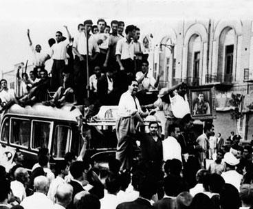 Imam Khomeini denounced coup against Mosaddeq